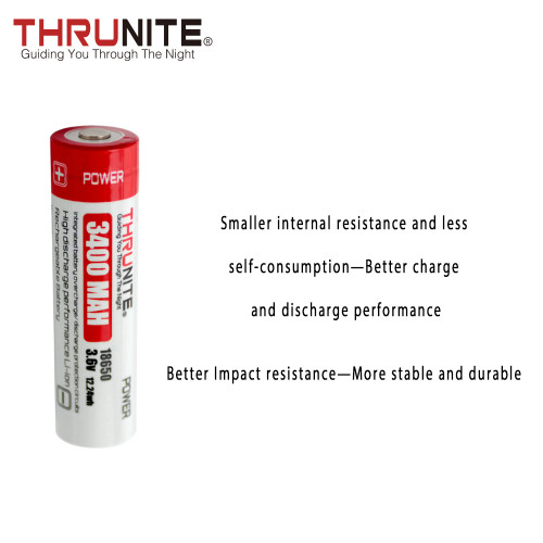THRUNITE 18650 3400mAh Battery (US Only)