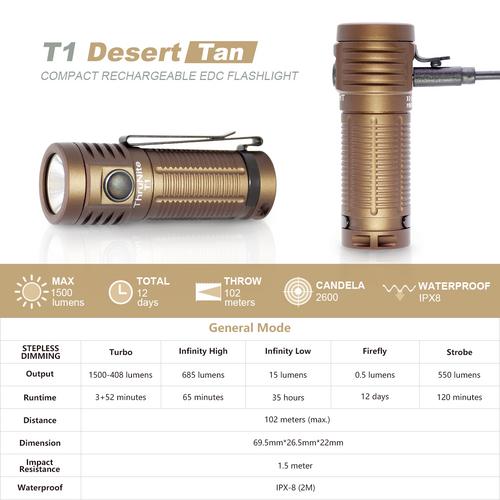 T1 Desert Tan