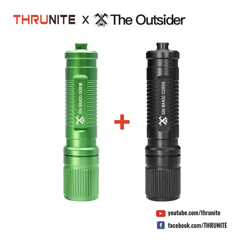 Outsider Ti2 Keychain Light Bundle