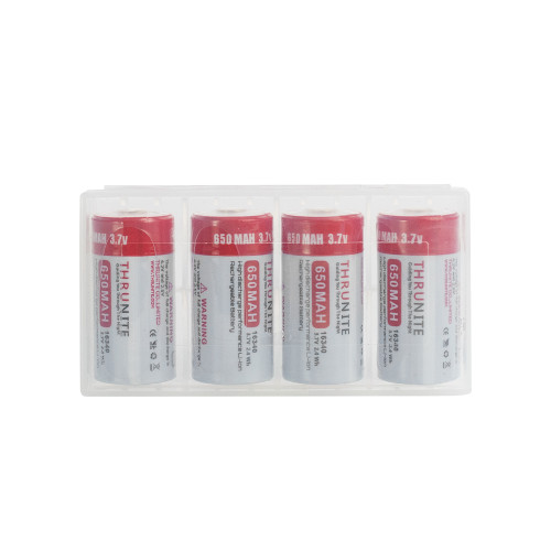 THRUNITE 16340 650mAh Battery Pack (US Only)