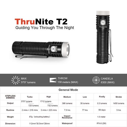 Bundle Sale - T2 black + 1*21700 Battery