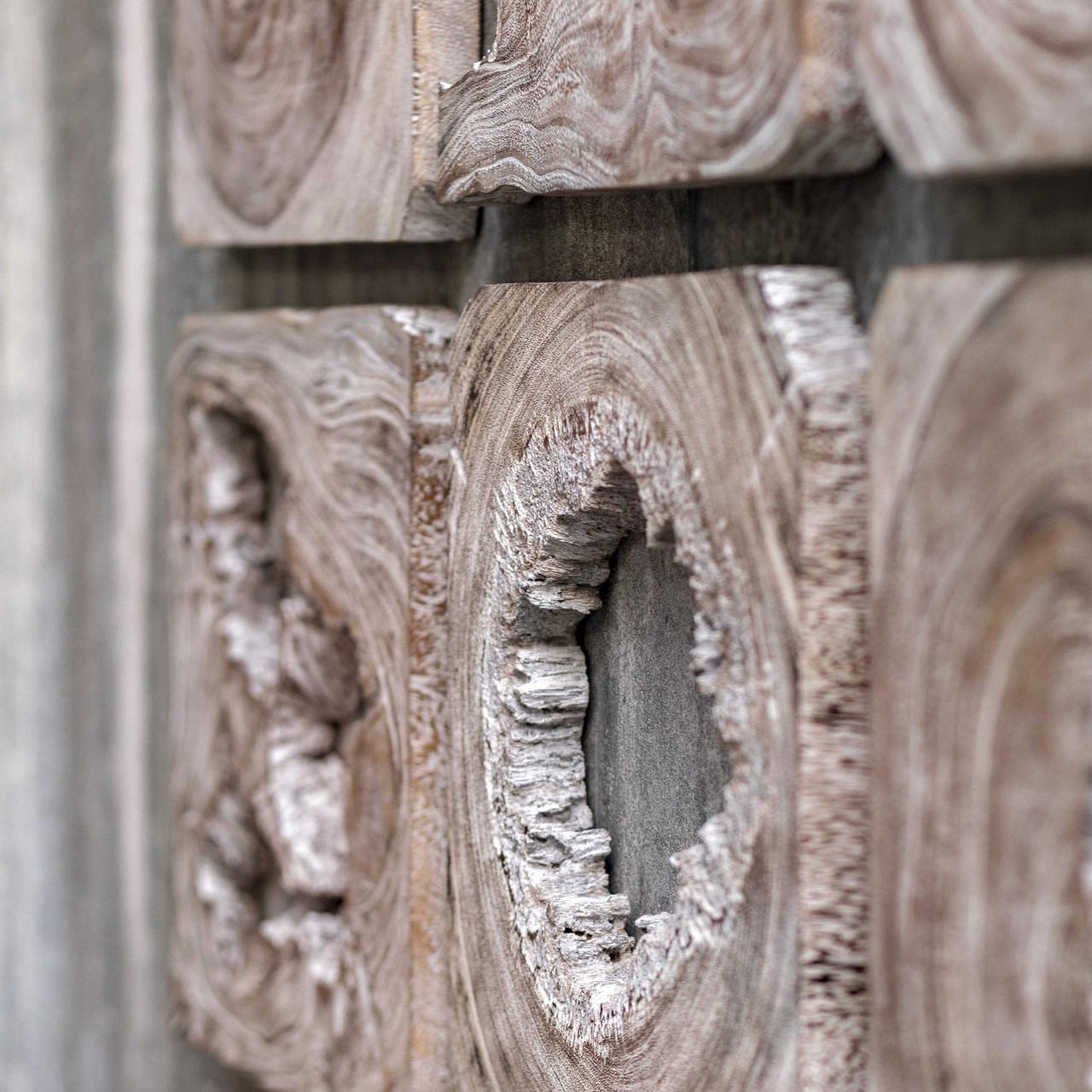 Bahati Wood Wall Art Set of 9