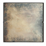 Small Antiqued Mirror Tile by Aidan Gray