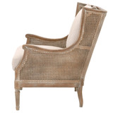Churchill Club Chair in Sand Linen