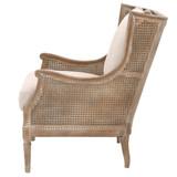 Churchill Club Chair in Sand Linen