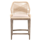 Loom Counter Stool in Sand