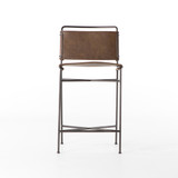 Wharton Counter Stool in Distressed Brown