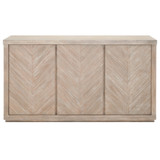 Adler Media Sideboard in Natural Gray