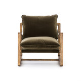 Ace Chair in Olive Green