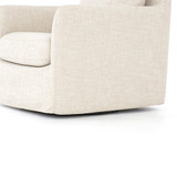 Banks Swivel Chair in Cambric Ivory