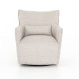Kimble Swivel Chair in Noble Platinum