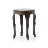Hopedale Side Table in Antique Rust
