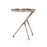 Schmidt Accent Table in Raw Antique Nickel