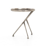 Schmidt Accent Table in Raw Antique Nickel