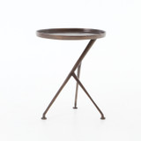 Schmidt Accent Table in Antique Rust