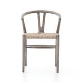 Muestra Dining Chair in Weathered Grey Teak
