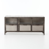 Element Media Console in Aged Nickel