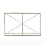 Lucas Console in Antique Brass