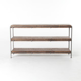 Simien Media Console in Gunmetal