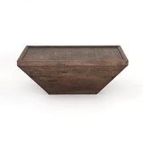 Drake Coffee Table in Aged Brown