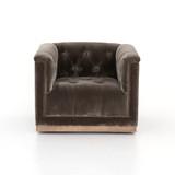 Maxx Swivel Chair in Sapphire Birch