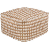Oak Cove Dot Pouf