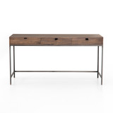 Trey Modular Writing Desk in Auburn Poplar