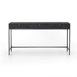 Trey Modular Writing Desk in Black Wash Poplar
