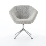 Farina Desk Chair in Knoll Domino