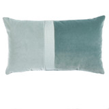Connor Spa Velvet & Linen Pillow