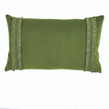 Addy Velvet Ivy Grass  Pillow