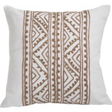 Jaipur Silk Bisque Embroidery Pillow