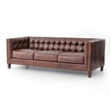 Abbott Sofa in Cigar Leather