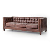 Abbott Sofa in Cigar Leather