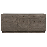 Baram Dresser in Distressed Grey