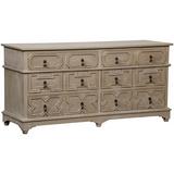 Watson 6 Drawer Dresser in Weathered Wood