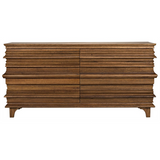 Bernard 6 Drawer Dresser in Dark Walnut