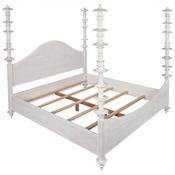 Noir Ferret Bed in White Wash