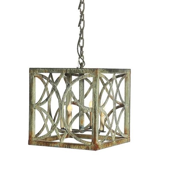 French Iron Eloise Lantern 4 Light