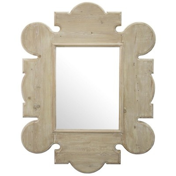Reclaimed Wood Gothic Mirror