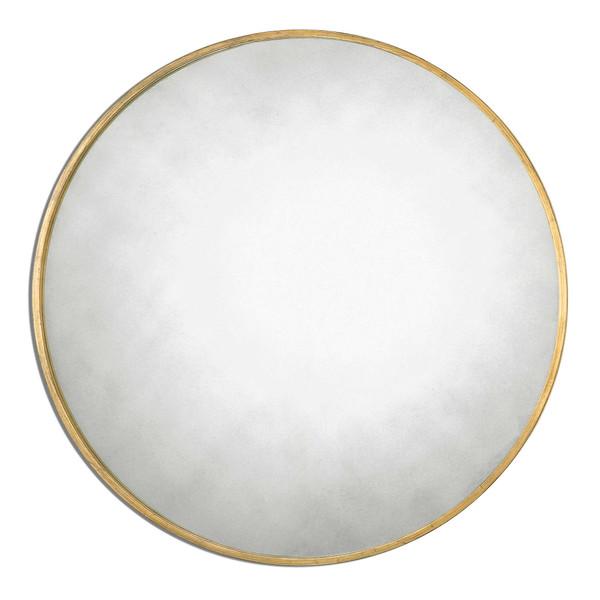 Junius Gold Round Mirror
