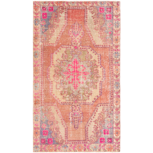 One of a Kind Ruby Moroccan Rug