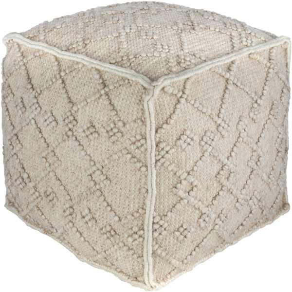 Hygge Pouf in Gray Ombre