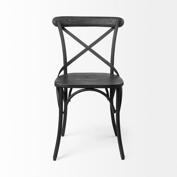 Eitenne Black Dining Chair