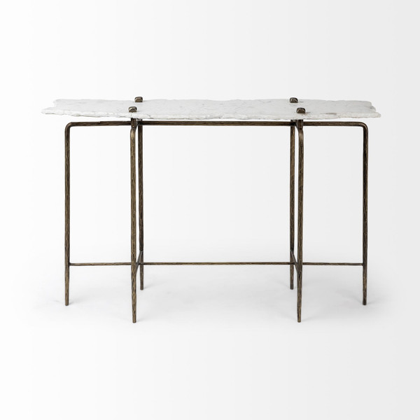 Pinera Marble Console Table