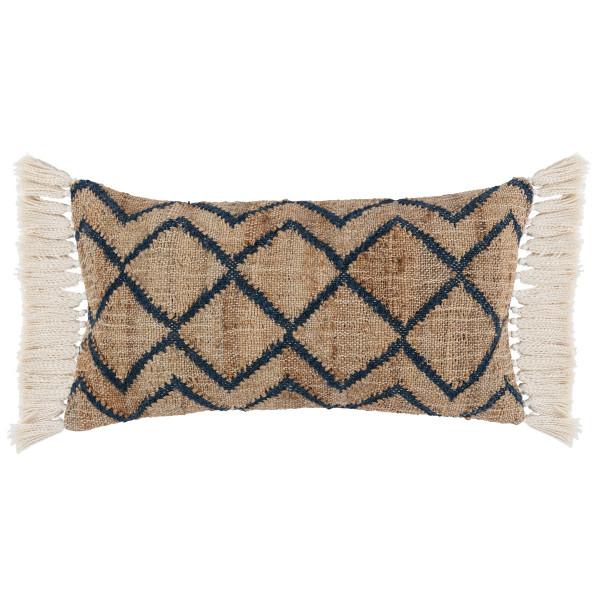 Isaac Azul Blue Natural Pillow