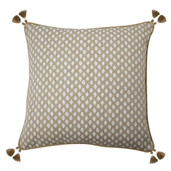Sahara Chalk Dot Pillow