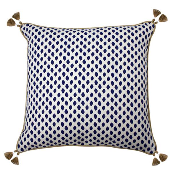 Sahara Midnight Dot Pillow