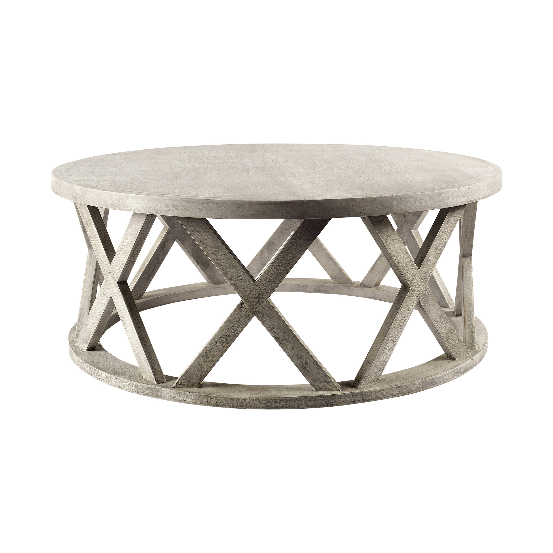 Picture of: Forsey Round X Coffee Table Ashley Taylor Home