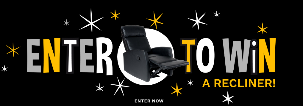 Enter to Win a recliner!